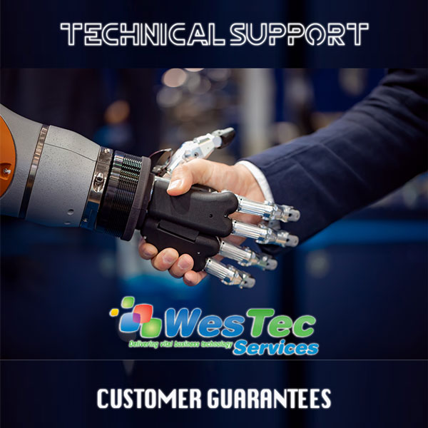 WesTec's Customer Guarantees- WesTec Services