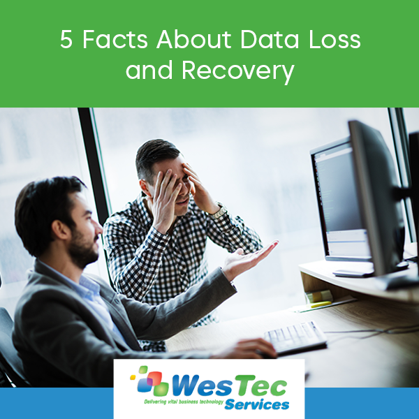 5 Facts About Data Loss and Recovery - WesTec Services